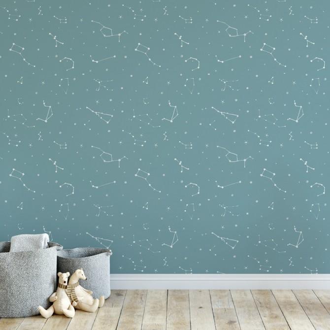 papel pintado constelaciones