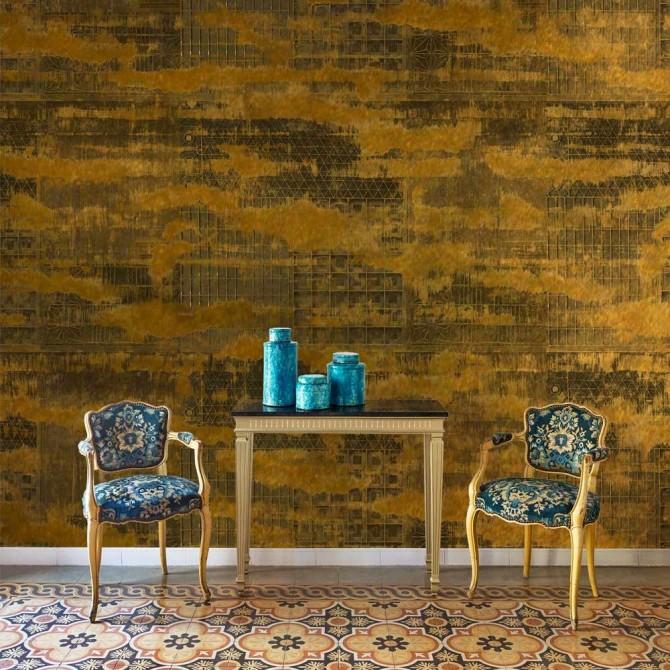 Mural Framework Copper