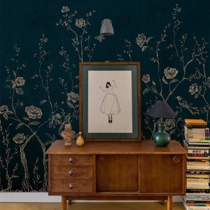 Mural Chinoiserie 2.0 Blue