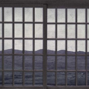 Mural New Japanese Window Twilight