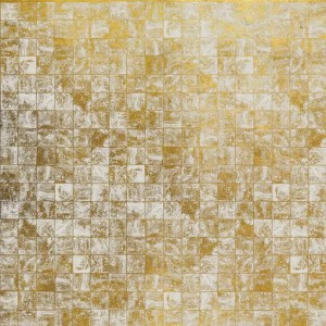 Mural Waves Tiles Gold