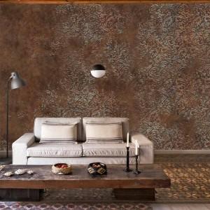 Mural Brocade Copper